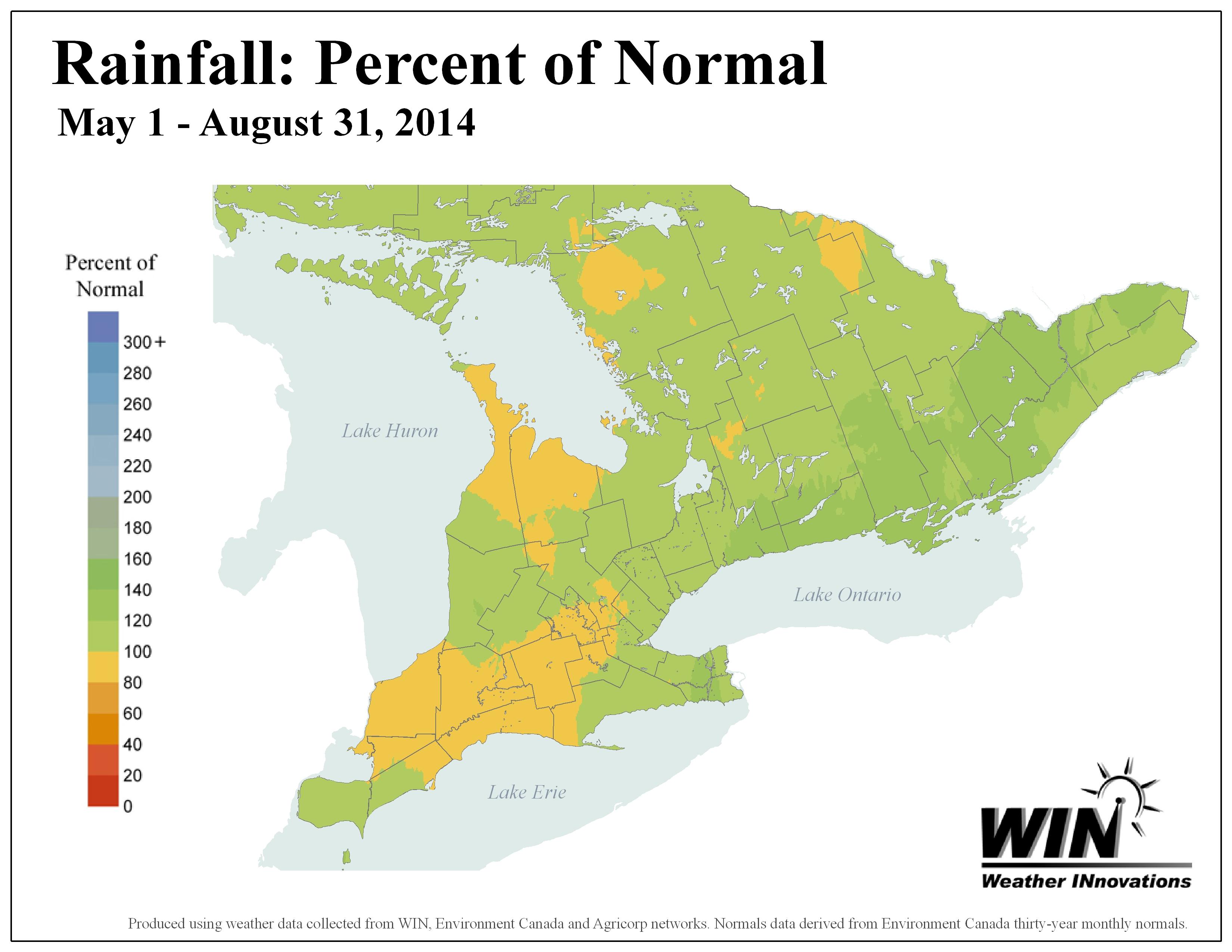 Season Rainfall Map
